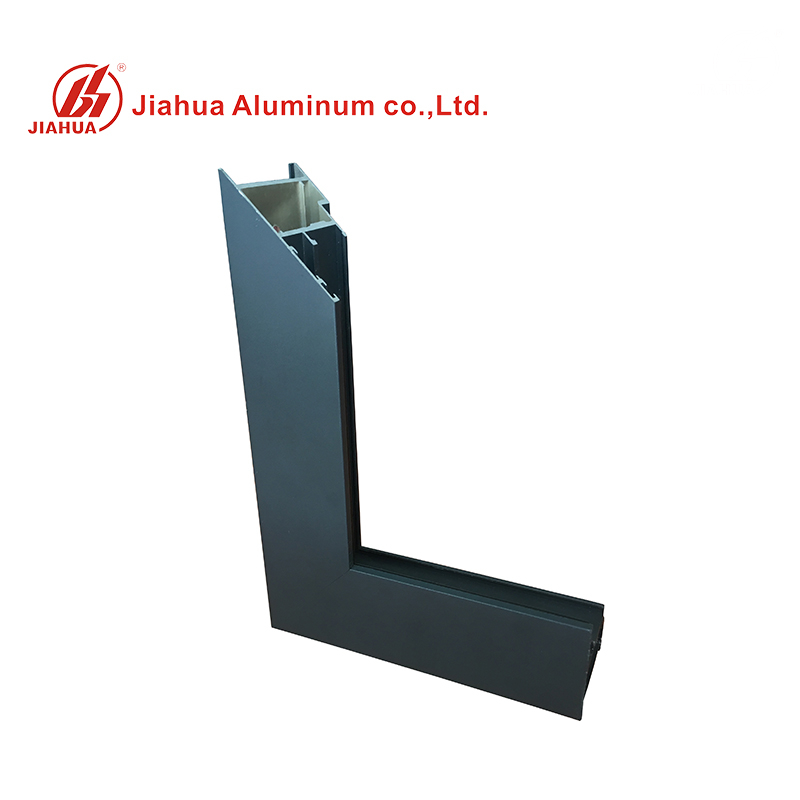 Lower Price Powder Coating Aluminum Window Frame Extrusion Profiles for Foshan Window