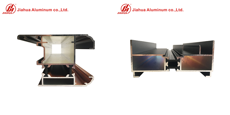 Aluminum window profiles