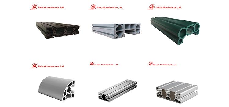 Jia Hua industrail aluminum profiles