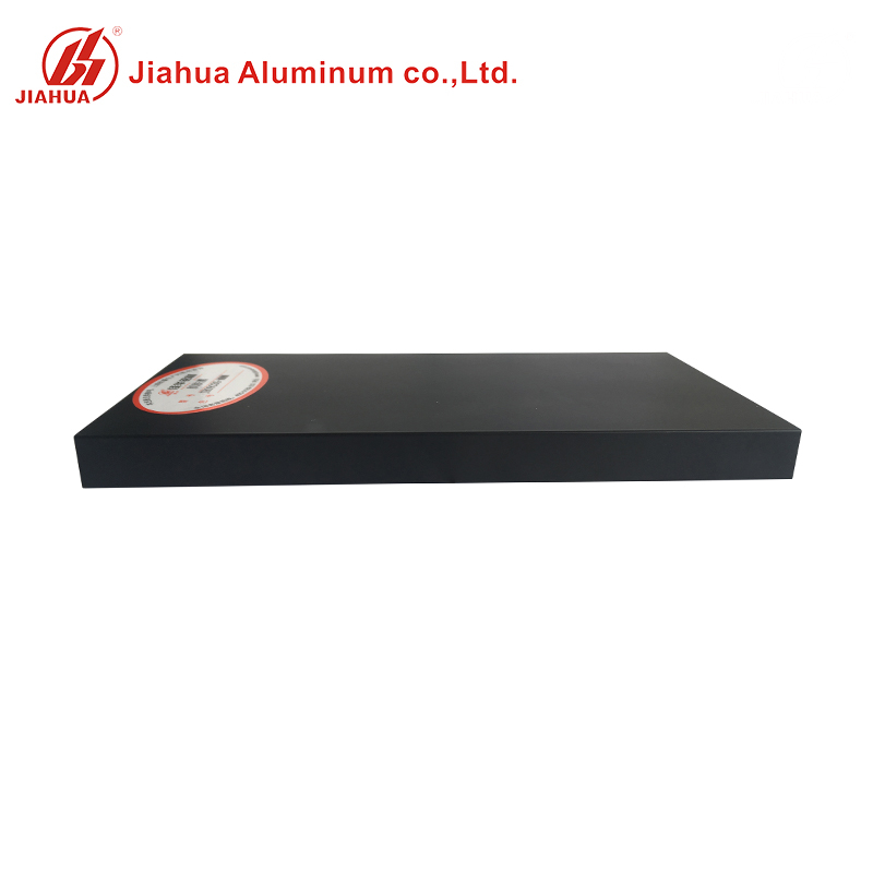 New Black Powder Coating Color Square Aluminum Tube Profile Price with Special Surface