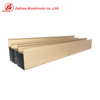 6063 Foshan Matt Golden Aluminium Window Profile To Make Doors And Windows China