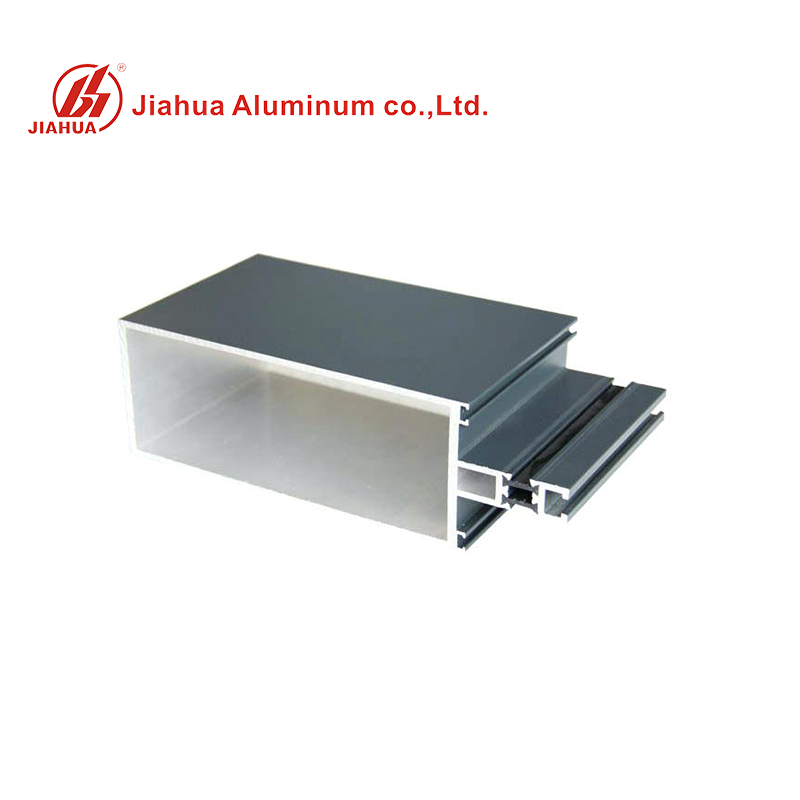 Thermal Break Aluminum Extrusion Frame Profiles Glass Curtain Wall for Facade