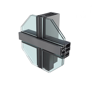 JYMQ150/160/180/200 Series Invisible Curtain Wall