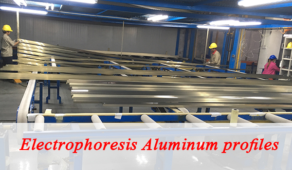 The Advantage of Electrophoresis aluminum extrusion
