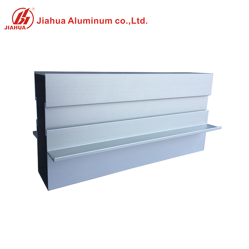 Aluminum Top Rail Fitting Window Frame Profiles for Sliding Windows And Doors