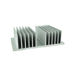 6061 T5 Small Aluminum Alloy Semicircular Heat Sink Car Radiator