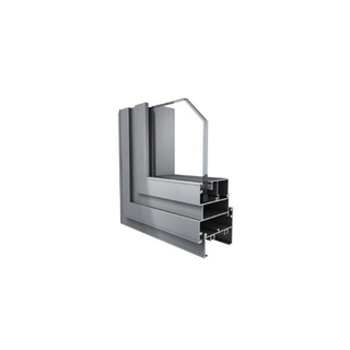 Double Low E Glass Custom Aluminum Metal Casement Framed Windows for Sales