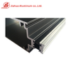 Heat Insulation Aluminum Glass Curtain Wall Constrution Profiles for Double Glass