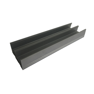 Top rail aluminum frame profiles housing window frame for sliding window and doors
