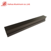 JH Extruded Building Material Window Foshan Aluminum Profile for Windows And Doors